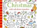 minicolouring bok christmas