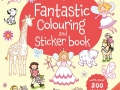 fantastic colouring and sticker