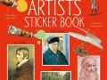 famous artist sticker book
