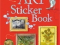 art sticekr book