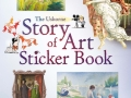 st of art sticker book