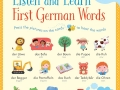 listen and learn first germ words1
