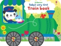 babyțs-very-first-train-book