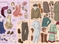 edwardian&20s fashion sticker dressing4