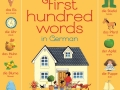 first hundred german words