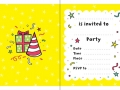 20 PARTY INVITATIONS2