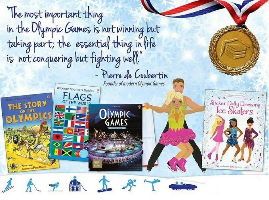 olimpics books