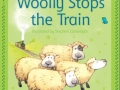 wooly stops the train sticker stories