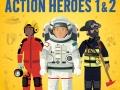 sticker action heros1+2