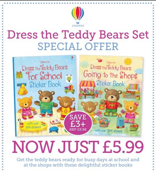 dress the teddy bears set